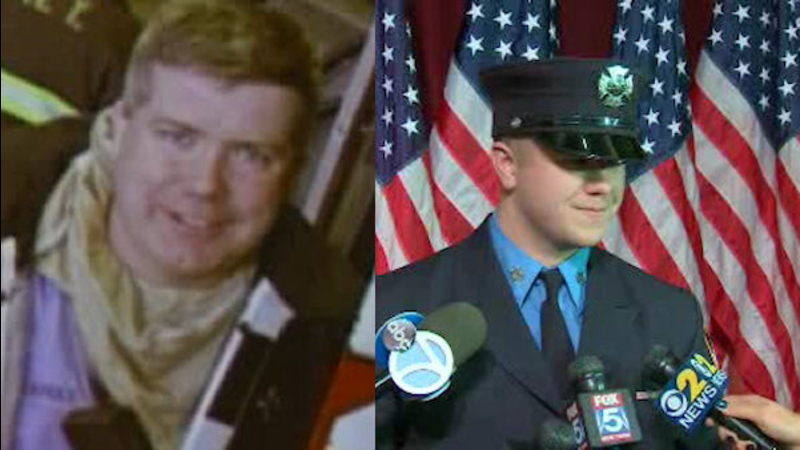 New FDNY firefighter following in footsteps of father who died on 9/11