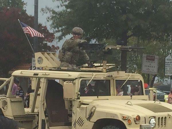 <div class='meta'><div class='origin-logo' data-origin='none'></div><span class='caption-text' data-credit='WTVD Photo/ Reporter Nicole Carr'>Photos from the Veteran's Day Parade in Fayetteville</span></div>
