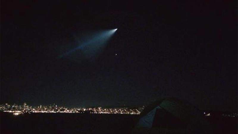 Navy does submarine missile test off coast, streaking light seen across  California