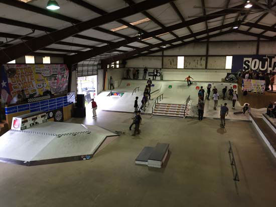 <div class='meta'><div class='origin-logo' data-origin='none'></div><span class='caption-text' data-credit='KTRK Photo/ Kirk Sowers'>A look at the inside of Southside Skatepark.</span></div>