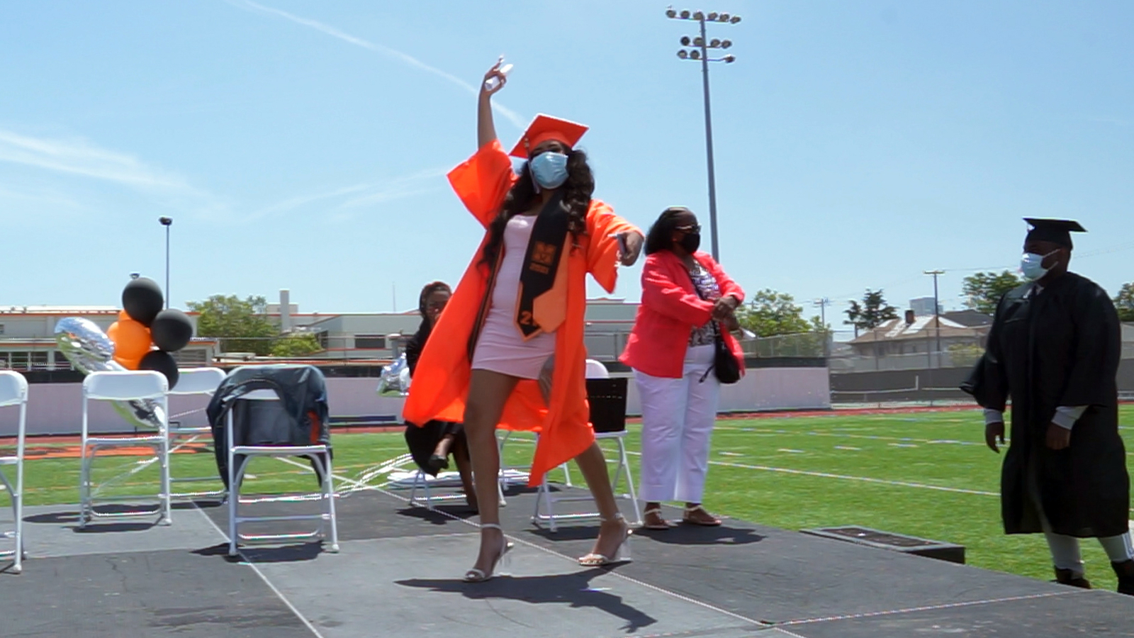 After a year apart, McClymonds High School students finally get chance to meet at graduation, only to say goodbye