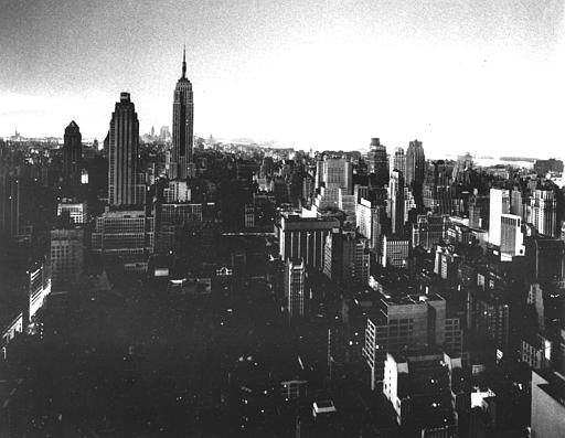 <div class='meta'><div class='origin-logo' data-origin='none'></div><span class='caption-text' data-credit='AP Photo/ File'>In this view from the RCA building, New York buildings are blacked out by a power failure, Nov. 9, 1965.</span></div>