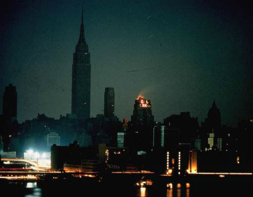 <div class='meta'><div class='origin-logo' data-origin='none'></div><span class='caption-text' data-credit='AP Photo/ File'>New York City during the massive blackout as seen from Long Island City on November 9, 1965. The buildings with lights have emergency power generators.</span></div>