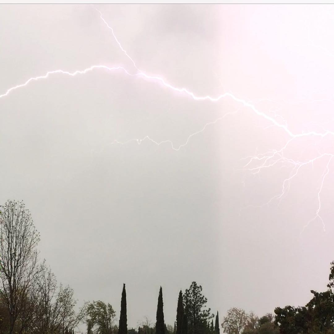 """<div class=""""meta image-caption""""><div class=""""origin-logo origin-image none""""><span>none</span></div><span class=""""caption-text"""">A storm moved through the Bay Area on Monday, November 9, 2015, bringing waves of thunderstorms, lightning and showers. Share your weather pics on social media using #abc7now. (Photo submitted to KGO-TV by gloria_r63/Instagram)</span></div>"""