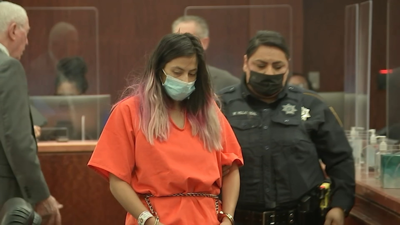 Bond raised to $600K for woman charged in 5-year-old's death