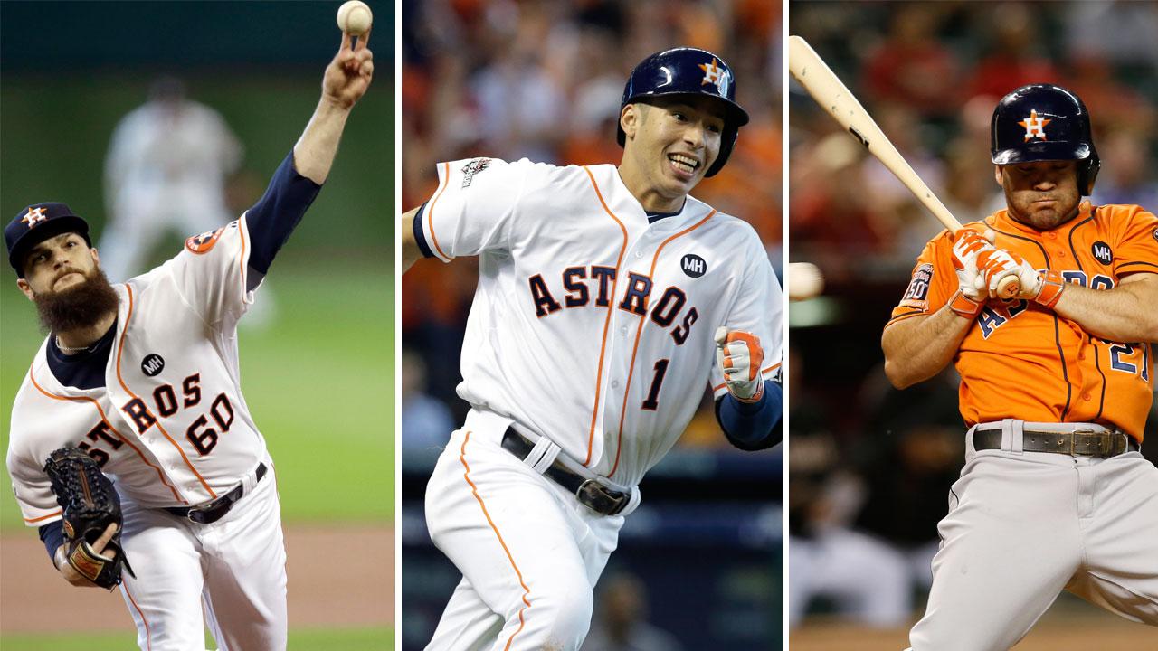 Houston Astros players
