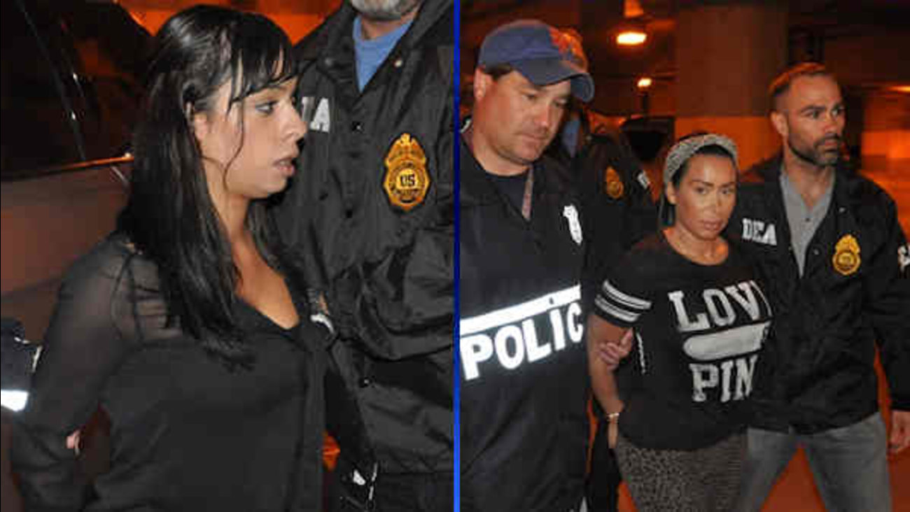 strippers arrested