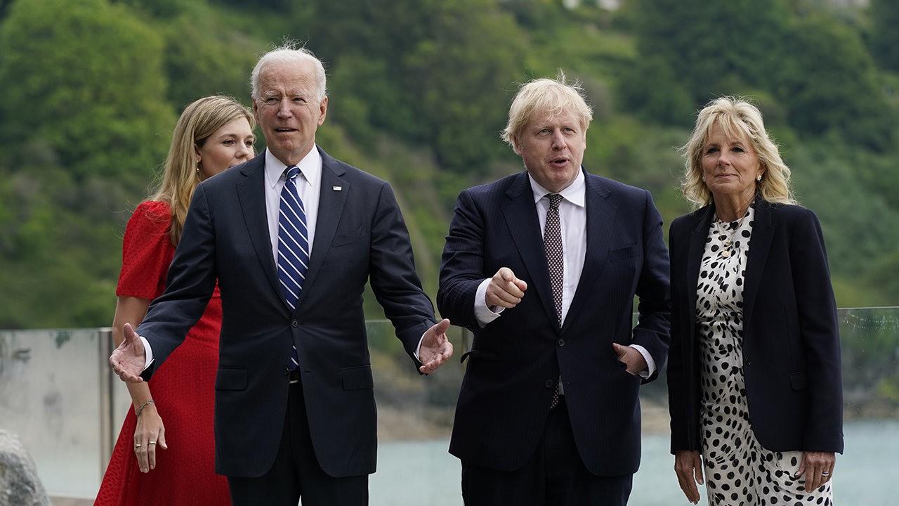 Joe Biden, Boris Johnson all smiles during 1st meeting