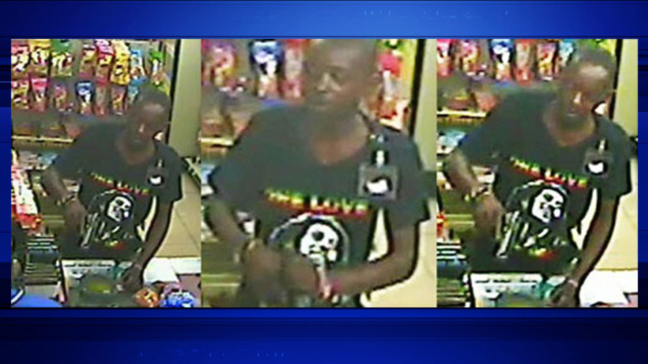 Armed robbery suspect demanded cigarettes from clerk