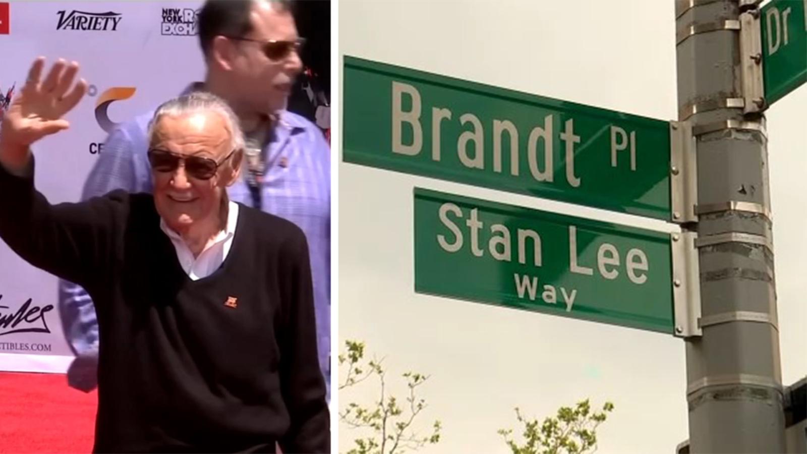 Bronx street renamed 'Stan Lee Way' in honor of Marvel comic book legend