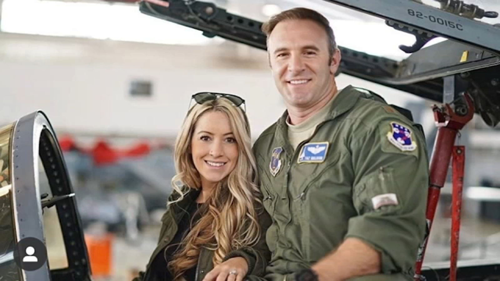 Pilot's widow graduates fire academy, squadron attends ceremony to show support
