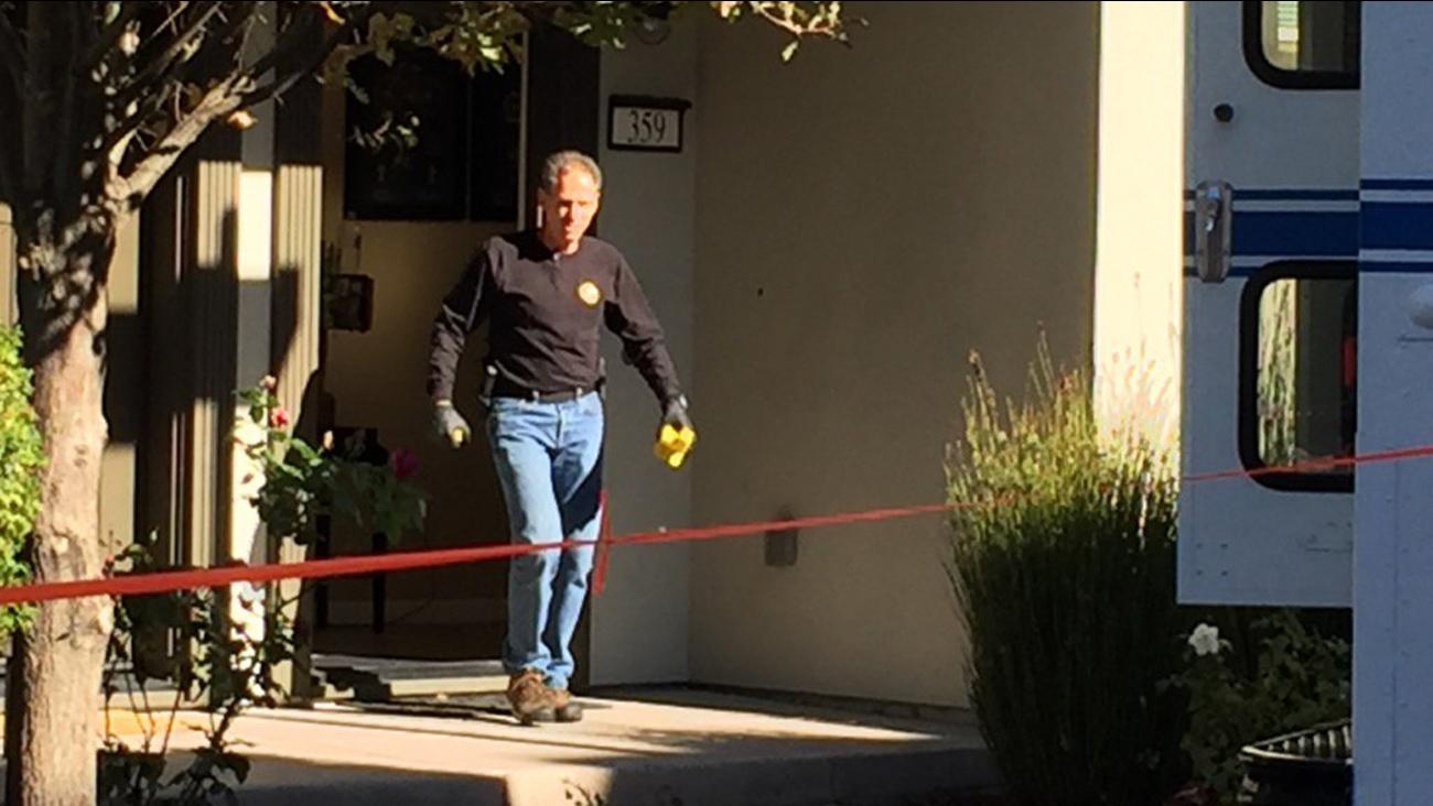 San Jose police investigate officer-involved shooting scene, Wednesday, November 11, 2015