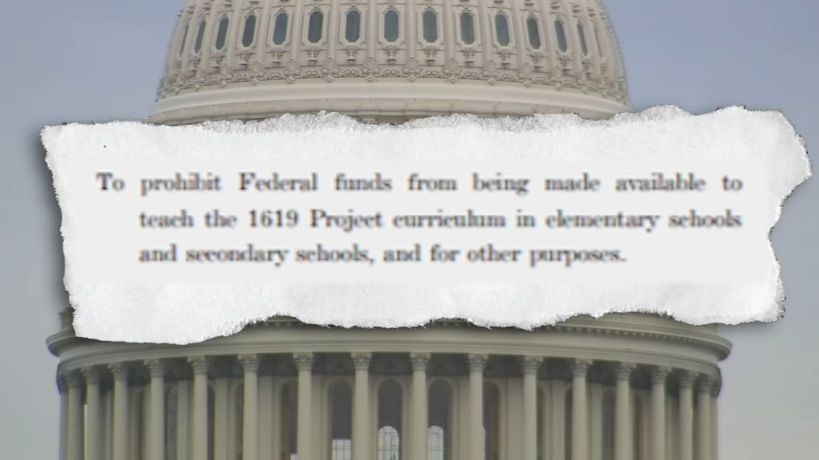 Sen. Thom Tillis co-sponsors bill to defund '1619 Project' in K-12 schools