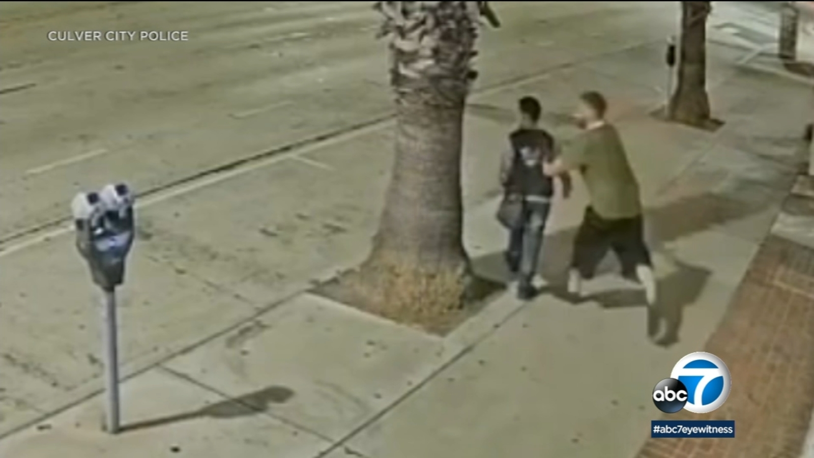 Man yells racial slur, knocks woman to ground in suspected hate crime in Culver City