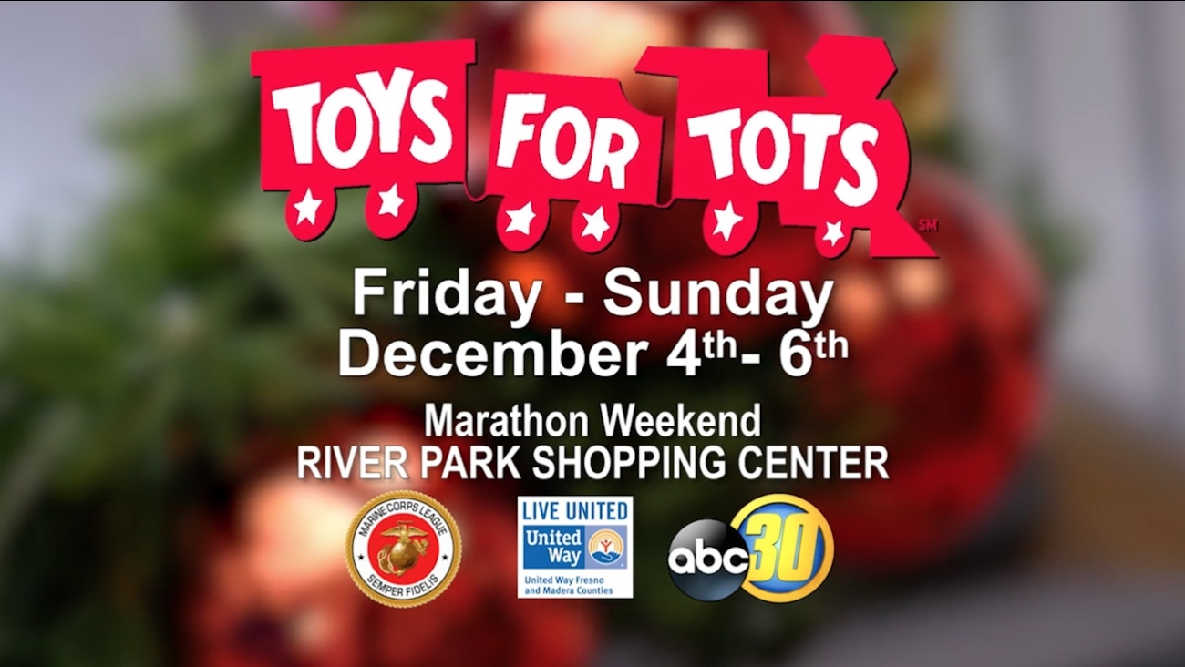 Toys For Tots Graphics : Toys for tots marathon weekend abc30.com