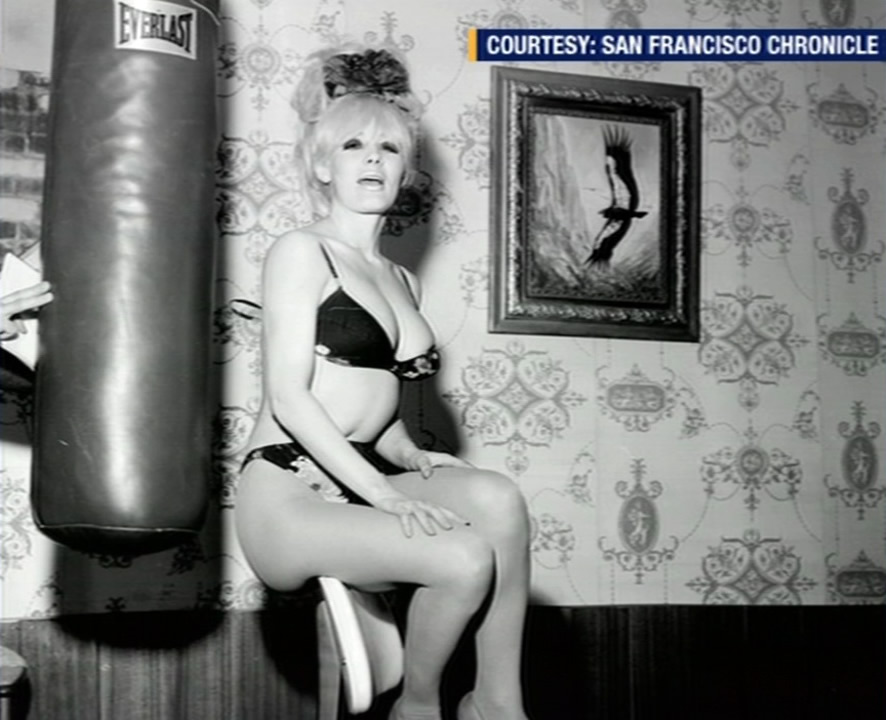 <div class='meta'><div class='origin-logo' data-origin='none'></div><span class='caption-text' data-credit='KGO-TV'>This undated photo shows legendary topless dancer Carol Doda. The San Francisco icon died of kidney failure on Monday, November 9, 2015.</span></div>