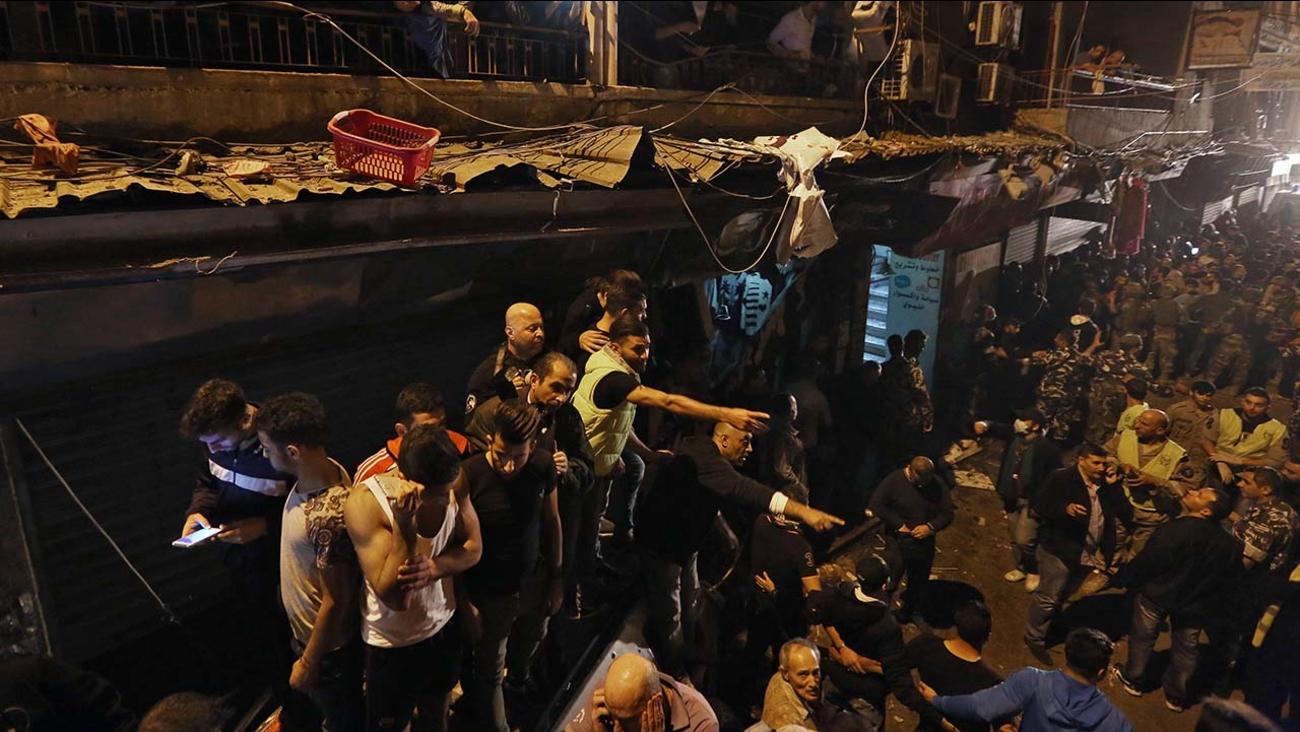 Twin suicide attack in Burj al-Barajneh