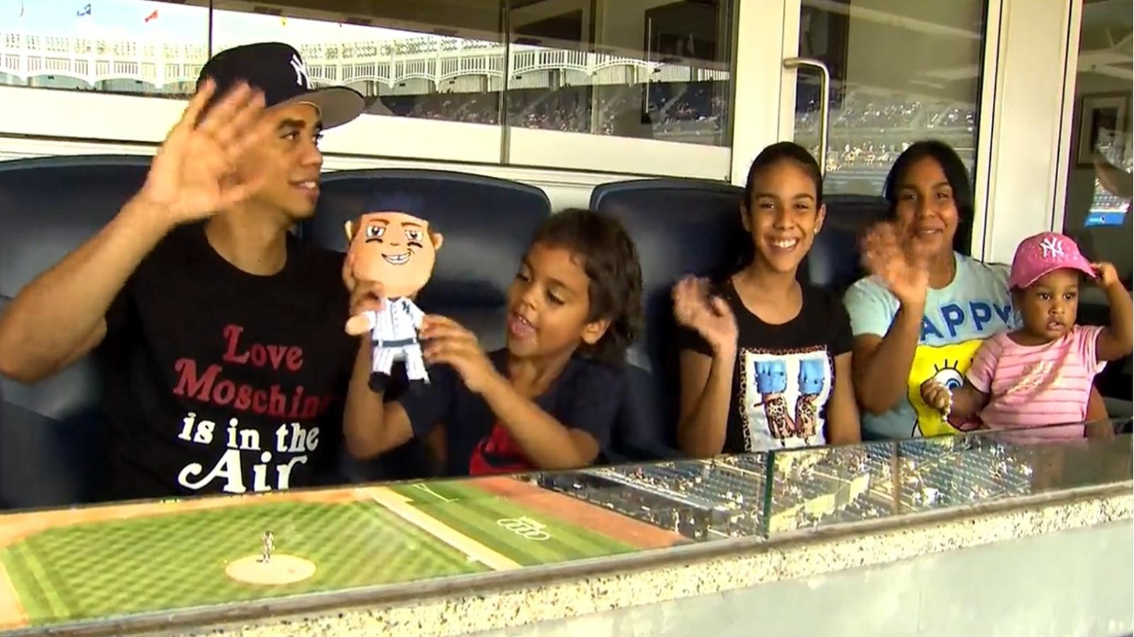 Yankees host children who dodged bullets in brazen Bronx shooting