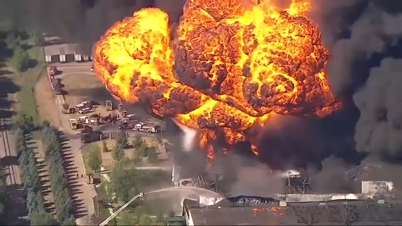 Rockton Il Chemtool Fire Update Hotspots Remain With Evacuation Order Still In Effect Abc7 Chicago