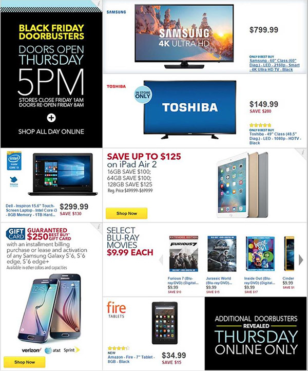 7c1ca144603d Black Friday 2015  Deals and store hours for in-store and online shopping