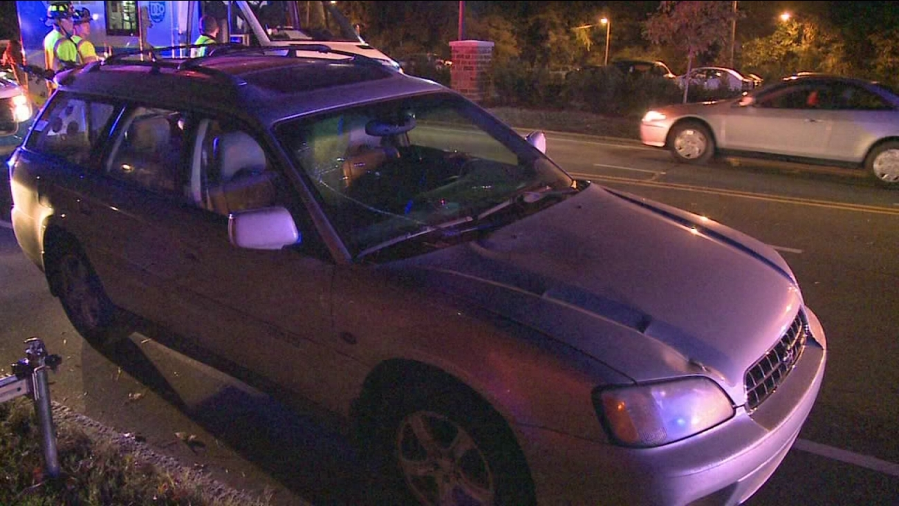 Woman hit by car near Duke