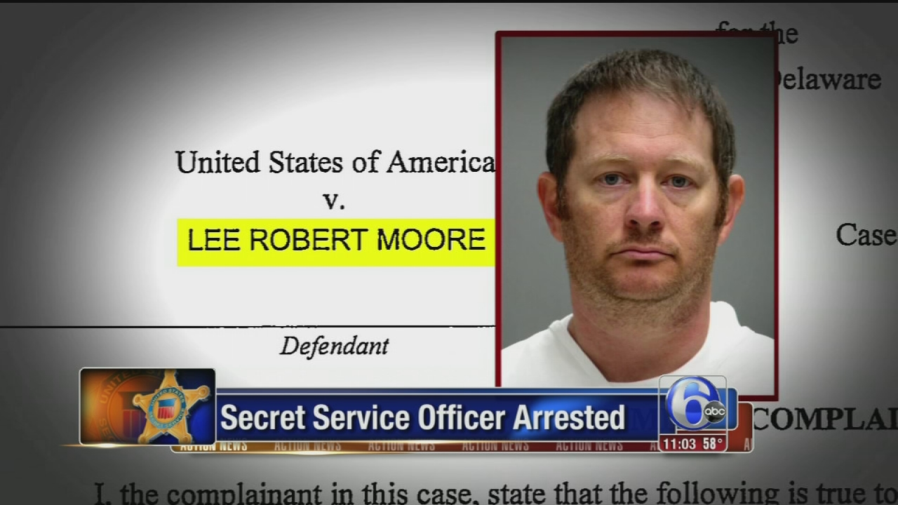 VIDEO: Secret Service officer arrested