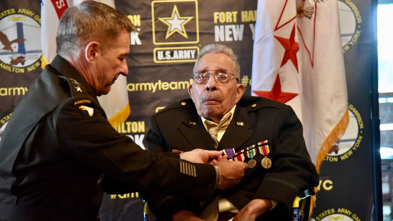 99-Year-Old World War II Veteran Finally Receives Purple Heart After Being Denied Honor Due to Racism