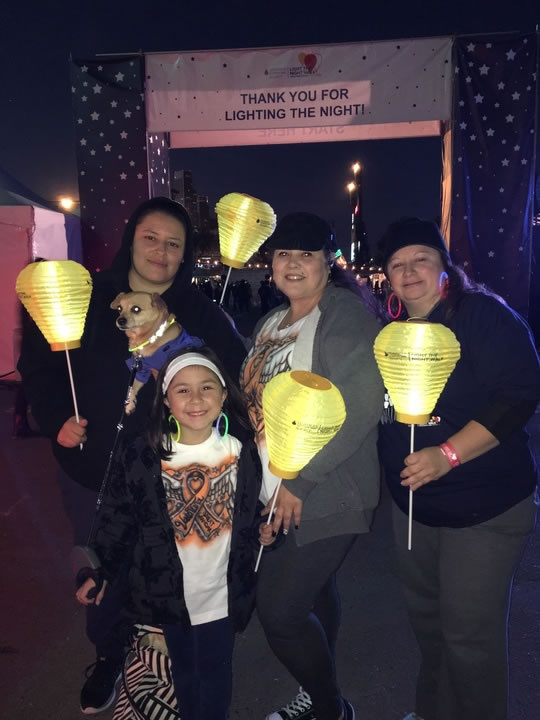 "<div class=""meta image-caption""><div class=""origin-logo origin-image none""><span>none</span></div><span class=""caption-text"">Team Valentina walks in support of the woman who was their mother and grandmother at the Light the Night Walk at AT&T Park in San Francisco Nov. 12, 2015. (KGO-TV)</span></div>"