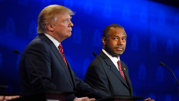 Trump questions Carson's 'pathological temper', faith