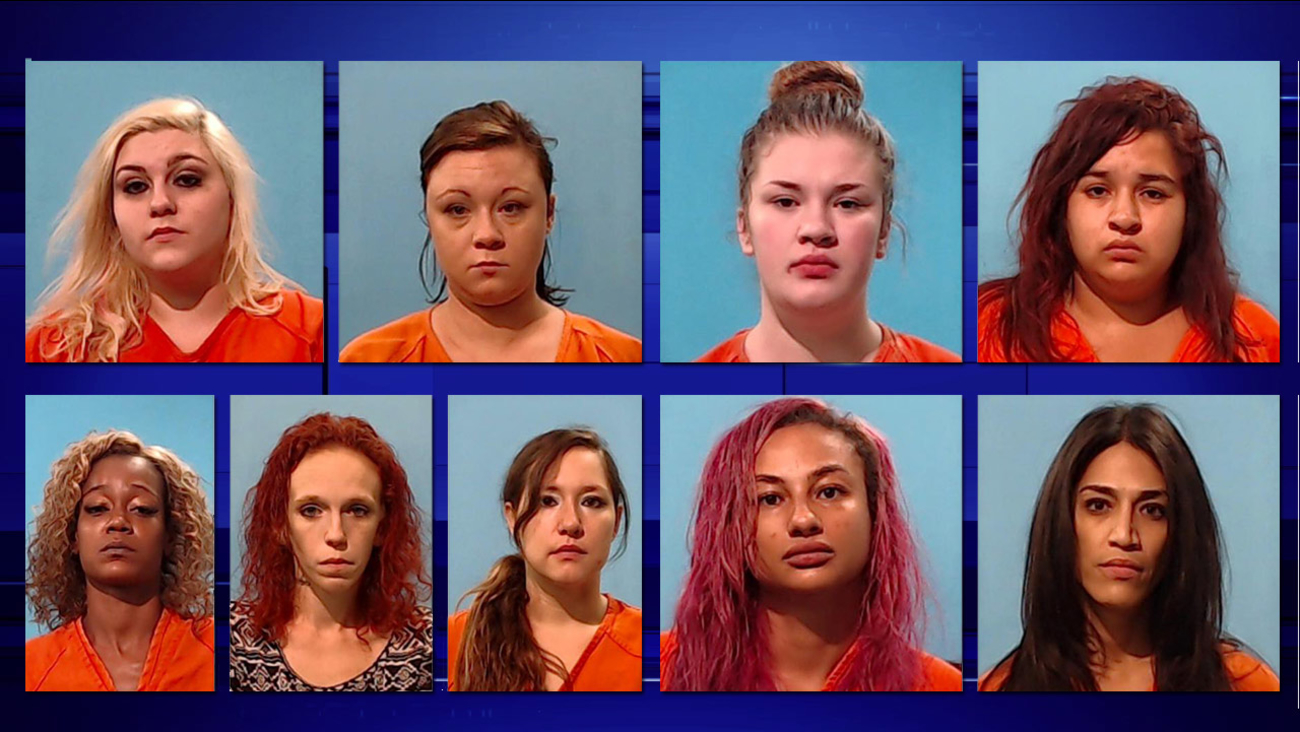 Prostitution suspects