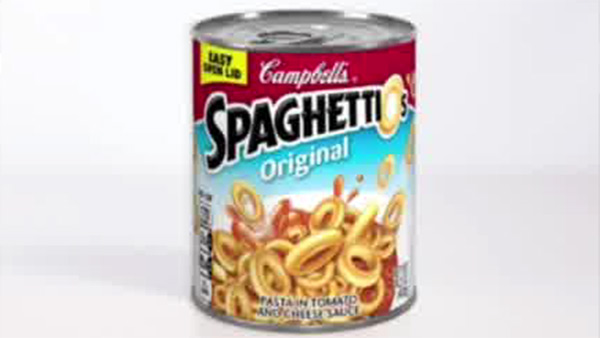 Campbell Soup recalls 355,000 cans of SpaghettiOs