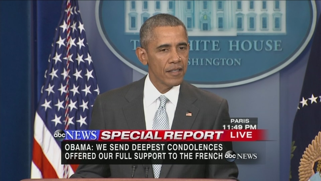 President Obama Calls Paris Attacks Heartbreaking Attack On All Of Humanity