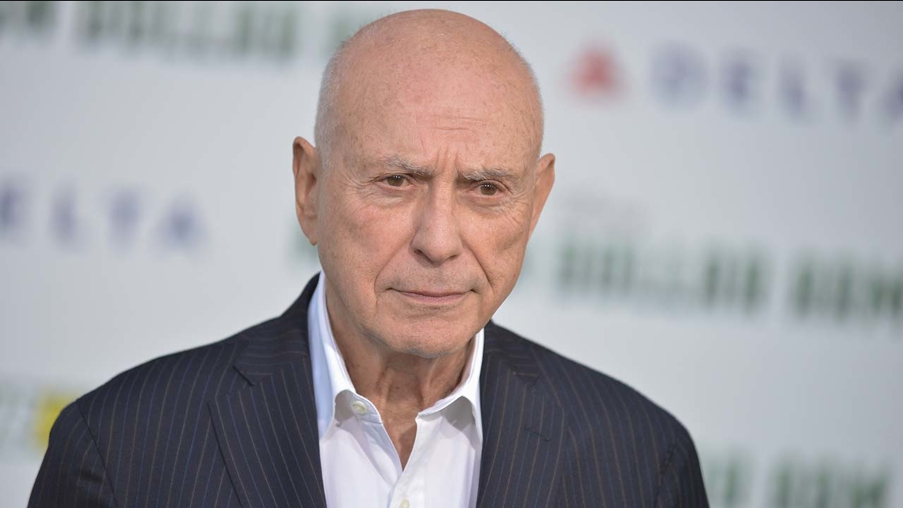"Alan Arkin arrives at the world premiere of ""Million Dollar Arm"" in Los Angeles"