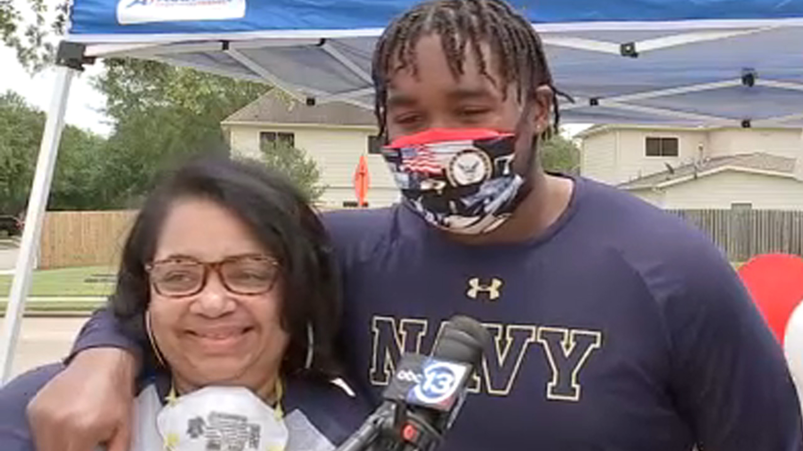 Houston mom killed in Maryland drive-by shooting during visit to drop off son at Naval Academy