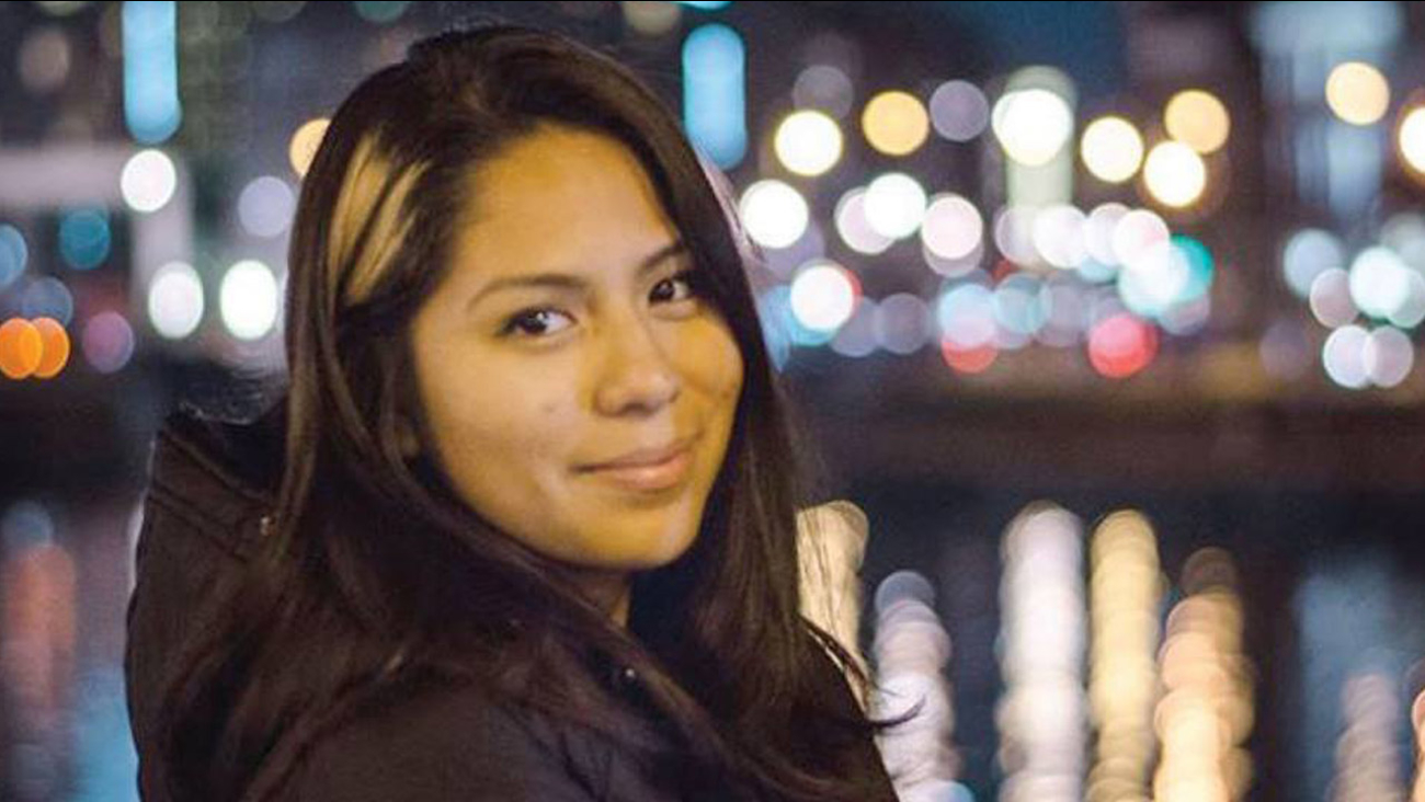 Nohemi Gonzalez, 23, is shown in a photo posted on the Strate College of Design's Facebook page.