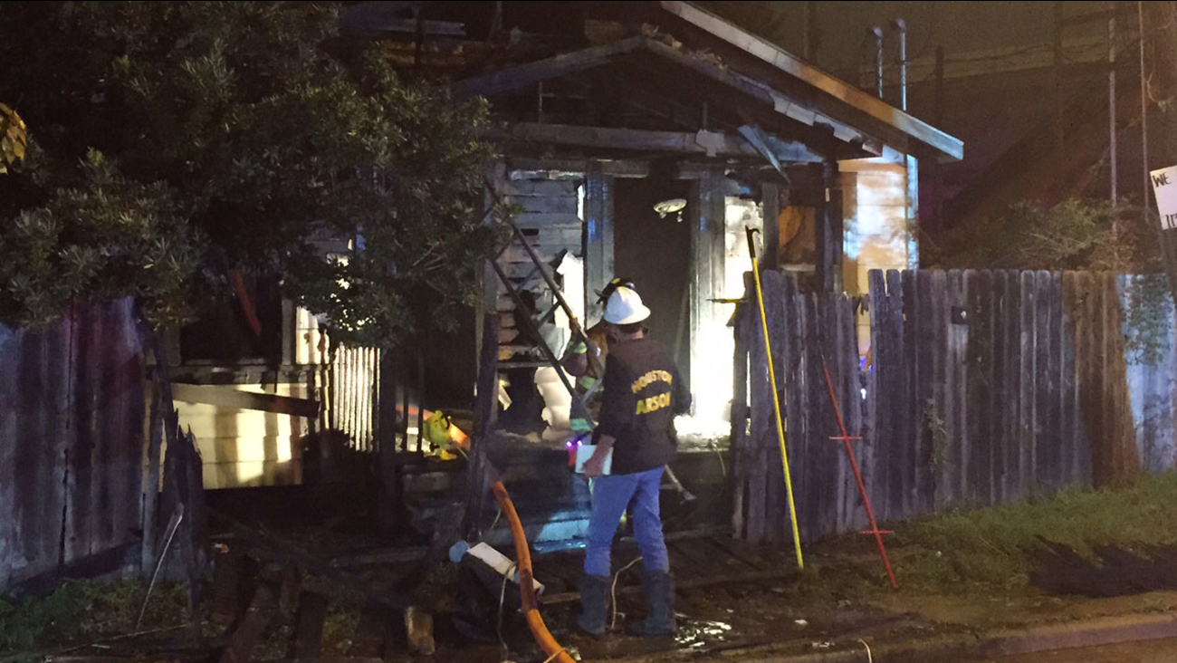 Jensen house fire