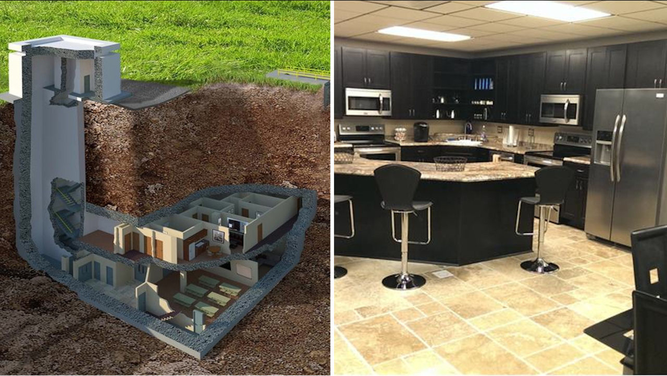 Underground Doomsday Bunker That Could Withstand A 20k Ton
