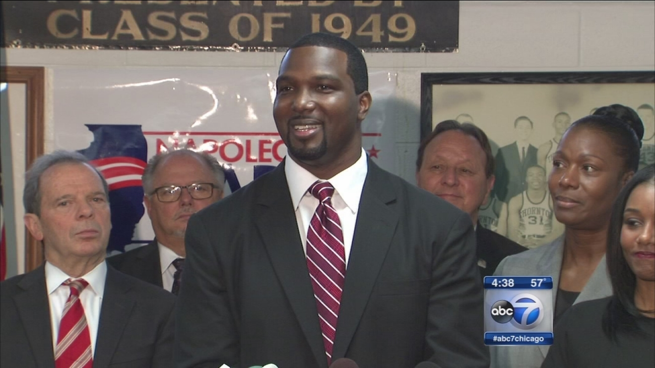 State Sen. Napoleon Harris announces US Senate bid