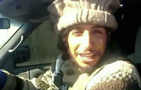 "<div class=""meta image-caption""><div class=""origin-logo origin-image none""><span>none</span></div><span class=""caption-text"">This undated image taken from a Militant Website on Monday, Nov.16, 2015, shows Belgian Abdelhamid Abaaoud. (Militant video via AP)</span></div>"