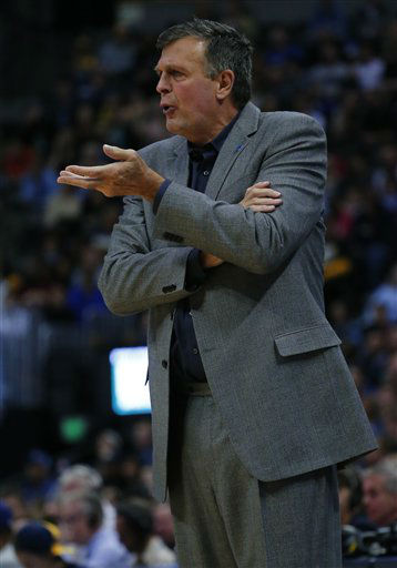 <div class='meta'><div class='origin-logo' data-origin='none'></div><span class='caption-text' data-credit='AP Photo/ Jack Dempsey'>Houston Rockets head coach Kevin McHale argues during the first half of an NBA basketball game against the Denver Nuggets  Friday, Nov. 13, 2015, in Denver. (AP Photo/Jack Dempsey)</span></div>