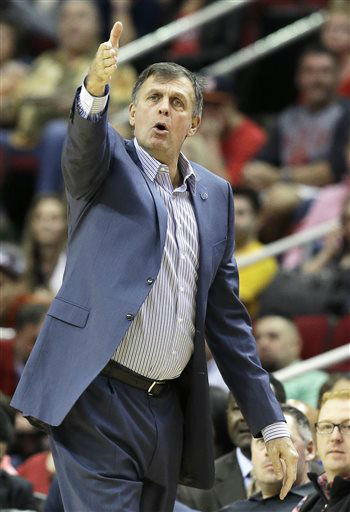 <div class='meta'><div class='origin-logo' data-origin='none'></div><span class='caption-text' data-credit='AP Photo/ Pat Sullivan'>Houston Rockets head coach Kevin McHale questions a call in the first half of an NBA basketball game against the Dallas Mavericks, Nov. 14, 2015.</span></div>