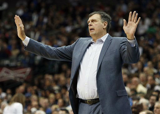 "<div class=""meta image-caption""><div class=""origin-logo origin-image none""><span>none</span></div><span class=""caption-text"">Houston Rockets head coach Kevin McHale calls out instructions during the second half of an NBA game against the Dallas Mavericks, Feb. 20, 2015. (AP Photo/ Brandon Wade)</span></div>"