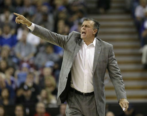 <div class='meta'><div class='origin-logo' data-origin='none'></div><span class='caption-text' data-credit='AP Photo/ Rich Pedroncelli'>Houston Rockets head coach Kevin McHale calls out instructions to his team during a NBA  game against the Sacramento Kings,  Nov. 6, 2015.</span></div>