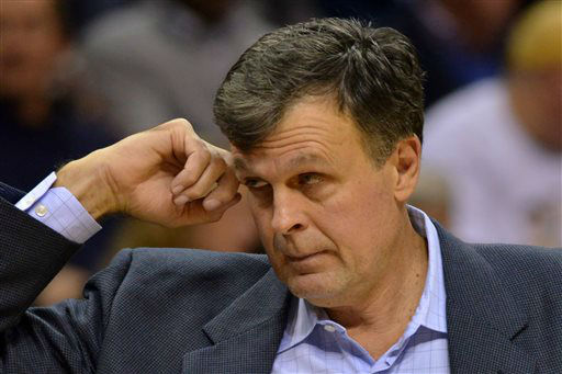 "<div class=""meta image-caption""><div class=""origin-logo origin-image none""><span>none</span></div><span class=""caption-text"">Houston Rockets head coach Kevin McHale stands on the sideline in an NBA  game against the Memphis Grizzlies,  Nov. 17, 2014. (AP Photo/ Brandon Dill)</span></div>"