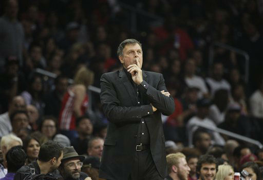 <div class='meta'><div class='origin-logo' data-origin='none'></div><span class='caption-text' data-credit='AP Photo/ Jae C. Hong'>Houston Rockets head coach Kevin McHale watches during the first half of an NBA game against the Los Angeles Clippers, Nov. 7, 2015.</span></div>