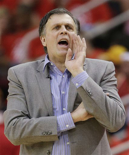 "<div class=""meta image-caption""><div class=""origin-logo origin-image none""><span>none</span></div><span class=""caption-text"">Houston Rockets head coach Kevin McHale works the sideline against the Golden State Warriors during Game 4 of the NBA Western Conference finals, May 25, 2015. (AP Photo/ David J. Phillip)</span></div>"