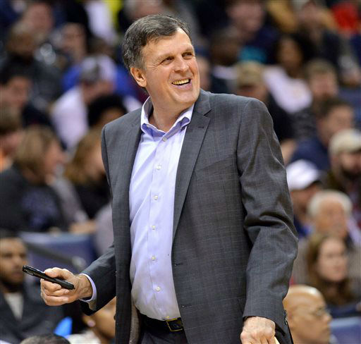 "<div class=""meta image-caption""><div class=""origin-logo origin-image none""><span>none</span></div><span class=""caption-text"">Houston Rockets coach Kevin McHale reacts from the sideline in the Rockets' NBA  game against the Memphis Grizzlies on  Dec. 26, 2014. (AP Photo/ Brandon Dill)</span></div>"