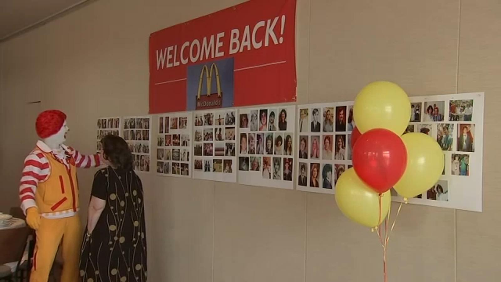 McDonald's crew reunites after 4 decades apart