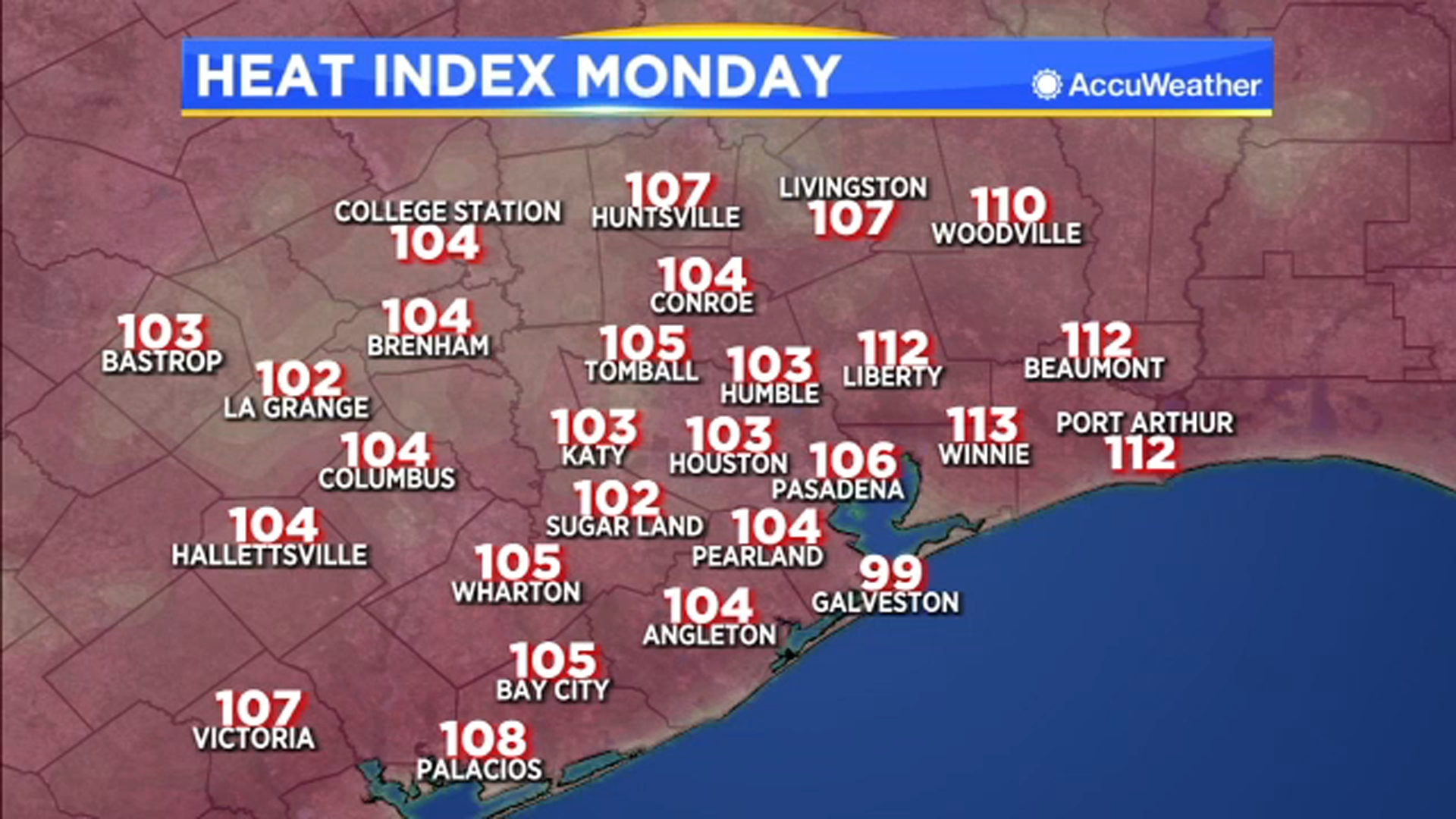 The heat continues Monday, but cooling downpours return Tuesday