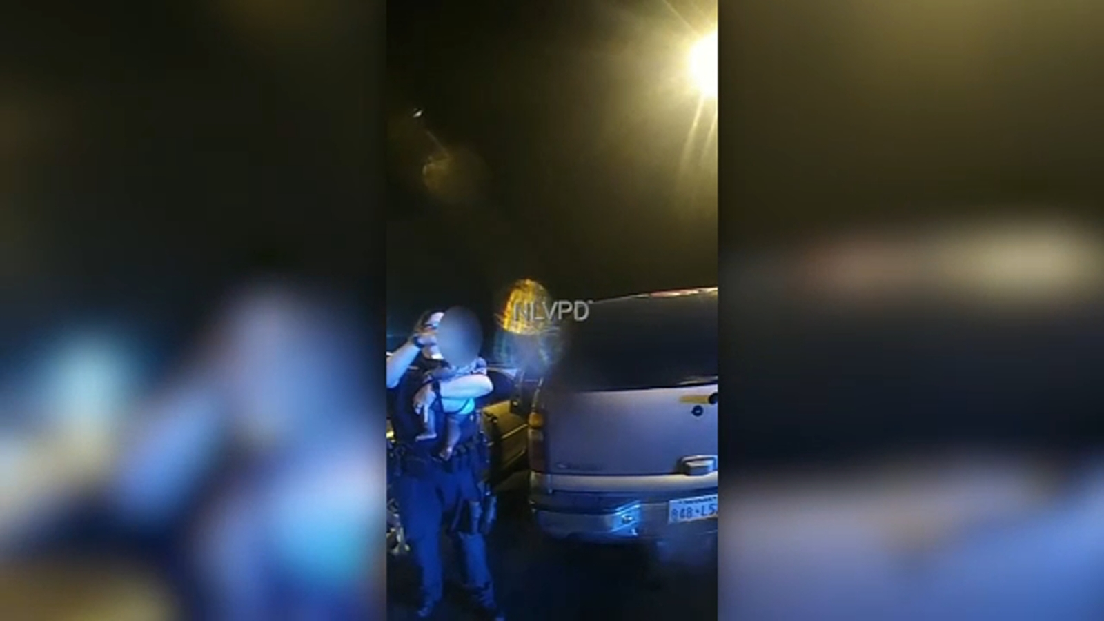 Baby rescued from hot car while caretaker reportedly gambles in nearby North Las Vegas casino: video